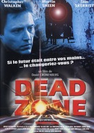 The Dead Zone - French DVD movie cover (xs thumbnail)