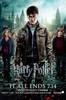 Harry Potter and the Deathly Hallows: Part II - Malaysian Movie Poster (xs thumbnail)