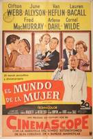 Woman's World - Argentinian Movie Poster (xs thumbnail)