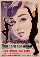 Funny Face - Spanish Movie Poster (xs thumbnail)