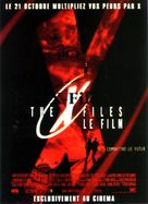 The X Files - French Movie Poster (xs thumbnail)