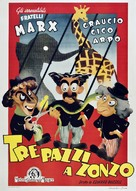 At the Circus - Italian Movie Poster (xs thumbnail)