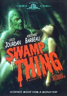 Swamp Thing - DVD cover (xs thumbnail)