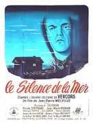 Le silence de la mer - French Movie Poster (xs thumbnail)