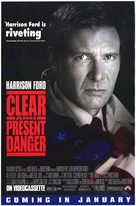 Clear And Present Danger - Video release movie poster (xs thumbnail)