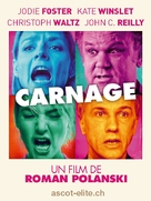 Carnage - Swiss Movie Poster (xs thumbnail)