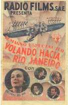 Flying Down to Rio - Spanish Movie Poster (xs thumbnail)