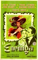 Nemica, La - Spanish Movie Poster (xs thumbnail)