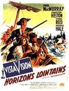 The Far Horizons - French Movie Poster (xs thumbnail)
