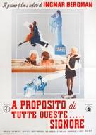 För att inte tala om alla dessa kvinnor - Italian Movie Poster (xs thumbnail)