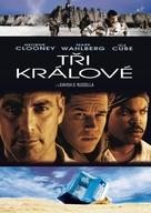 Three Kings - Czech DVD movie cover (xs thumbnail)
