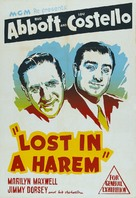 Lost in a Harem - Australian Movie Poster (xs thumbnail)