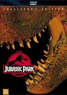 Jurassic Park - Danish DVD cover (xs thumbnail)