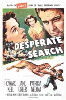 Desperate Search - Movie Poster (xs thumbnail)