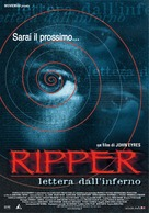 Ripper - Italian Movie Poster (xs thumbnail)