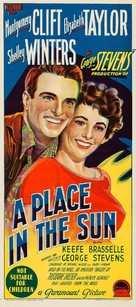 A Place in the Sun - Australian Movie Poster (xs thumbnail)