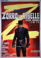 Zorro il ribelle - Italian Movie Poster (xs thumbnail)