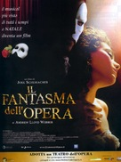 The Phantom Of The Opera - Italian Movie Poster (xs thumbnail)