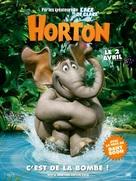 Horton Hears a Who! - French Movie Poster (xs thumbnail)