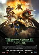 Teenage Mutant Ninja Turtles - Romanian Movie Poster (xs thumbnail)