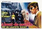 À bout de souffle - Belgian Movie Poster (xs thumbnail)