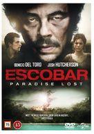 Escobar: Paradise Lost - Danish DVD cover (xs thumbnail)
