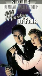 Ministry of Fear - VHS cover (xs thumbnail)