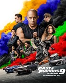F9 - Malaysian Movie Poster (xs thumbnail)