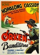 Outlaws of the Desert - Danish Movie Poster (xs thumbnail)