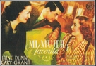 My Favorite Wife - Spanish Movie Poster (xs thumbnail)
