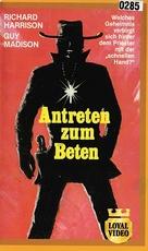 Reverendo Colt - German VHS cover (xs thumbnail)