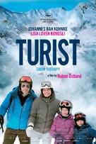 Turist - Belgian Movie Poster (xs thumbnail)