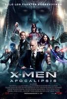X-Men: Apocalypse - Mexican Movie Poster (xs thumbnail)