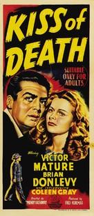 Kiss of Death - Australian Movie Poster (xs thumbnail)