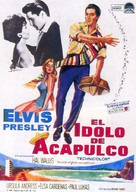 Fun in Acapulco - Spanish Movie Poster (xs thumbnail)