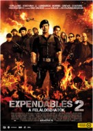 The Expendables 2 - Hungarian Movie Poster (xs thumbnail)