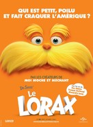 The Lorax - French Movie Poster (xs thumbnail)
