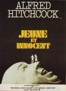 Young and Innocent - French Movie Poster (xs thumbnail)