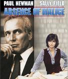 Absence of Malice - Blu-Ray movie cover (xs thumbnail)
