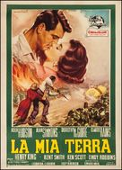 This Earth Is Mine - Italian Movie Poster (xs thumbnail)