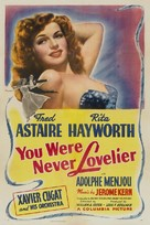 You Were Never Lovelier - Movie Poster (xs thumbnail)