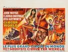 Circus World - Belgian Movie Poster (xs thumbnail)
