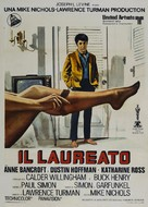 The Graduate - Italian Theatrical poster (xs thumbnail)