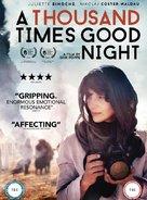 Tusen ganger god natt - British DVD movie cover (xs thumbnail)