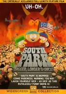 South Park: Bigger Longer & Uncut - DVD cover (xs thumbnail)