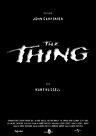 The Thing - French Re-release movie poster (xs thumbnail)