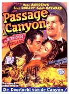 Canyon Passage - Belgian Movie Poster (xs thumbnail)