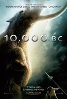 10,000 BC - British Movie Poster (xs thumbnail)