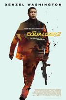 The Equalizer 2 - Danish Movie Poster (xs thumbnail)