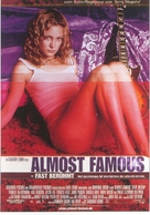 Almost Famous - German Theatrical movie poster (xs thumbnail)